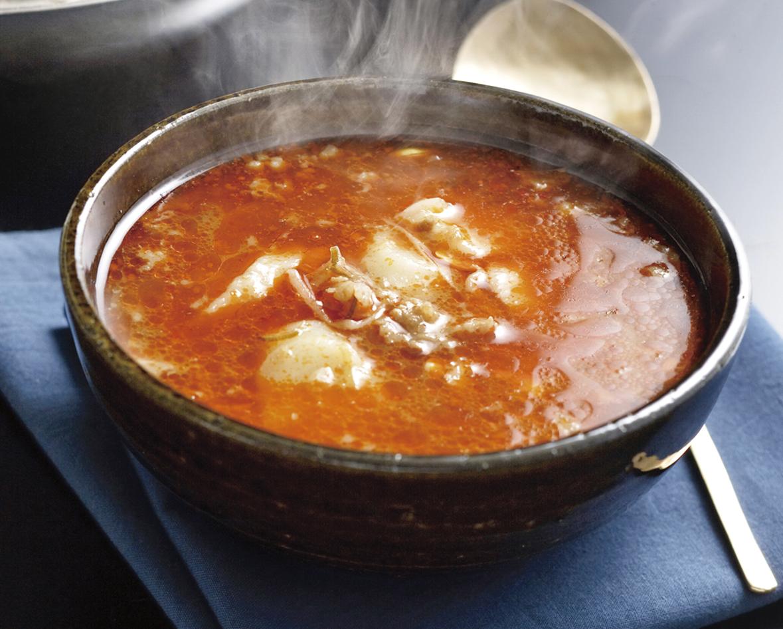 スープ ユッケ は ジャン と